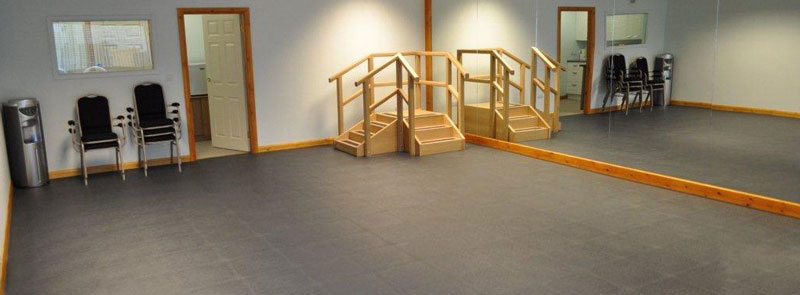 internal view of our exercise studio